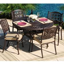 Cast Aluminum Patio Tables Cast Aluminum Patio Furniture Clearance Outdoor Decorating