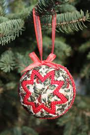40 best quilted ornaments images on pinterest quilted christmas