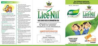 lice nil lice and eggs killer oil sujanil chemo industries