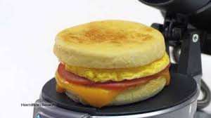 Breakfast Sandwich Toaster Hamilton Beach Breakfast Sandwich Maker U2013 Review Techiesense