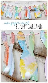 Simple Diy Easter Decorations by Simple Bunny Garland Housing A Forest