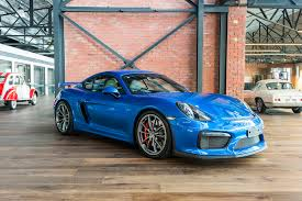cayman porsche gt4 2016 porsche cayman gt4 richmonds classic and prestige cars