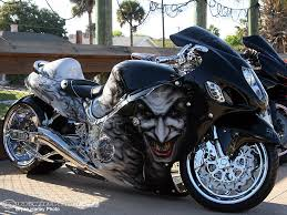 sportbike motorcycle boots joker paint job on a motorcycler custom motorcycle paint