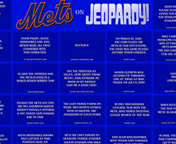 New York Mets Memes - this is new york mets jeopardy amazin avenue