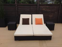 Double Chaise Lounge Sofa by Beauty Patio Double Chaise Lounge House Decorations And Furniture
