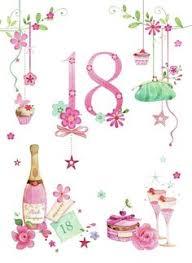 18 birthday cards 18th birthday card 18th greeting card