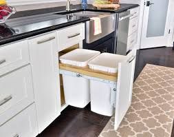 kitchen trash can ideas kitchen popular kitchen trash can placement startling kitchen