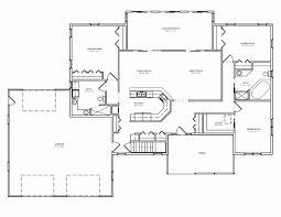 4 bedroom split floor plan 4 bedroom ranch floor plans awesome split house throughout plan