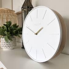 mpany lagom silent wall clock 30cm