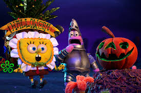 spongebob squarepants halloween special trailer in stop motion