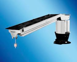 motorized telescoping stern light stainless steel gangway all boating and marine industry
