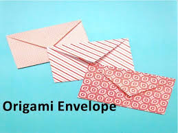 how to make envelopes how to make an origami envelope youtube