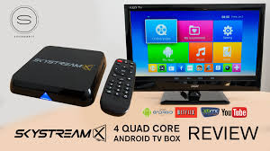 android tv box skystreamx 4 android tv box review xbmc