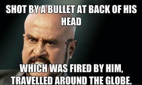 Meme Shot - shot by a bullet at back of his head1 az meme funny memes funny