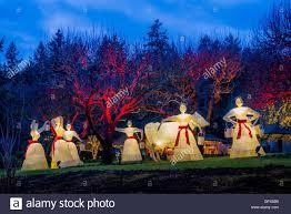 12 days of christmas display butchart gardens brentwood bay