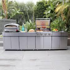 prefab outdoor kitchen island modular outdoor kitchens with the look kitchen ideas inside