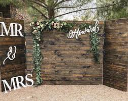 wedding backdrop sign wedding backdrop sign etsy