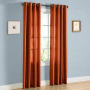 Burnt Orange Curtains Orange Curtains