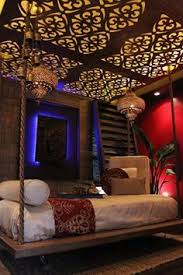 Moroccan Mystique Feature Wall Contemporary Bedroom by Awesome Decore Home U0026 Occasions Pinterest