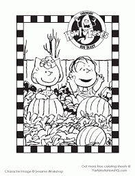 thanksgiving charlie brown coloring pages coloring
