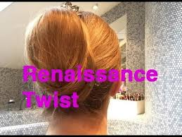 Frisuren Renaissance Anleitung by Frisur Anleitung Renaissance Twist