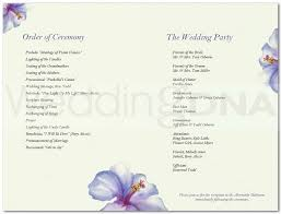 wedding programs template free free and wedding program templates batty 2416671 top