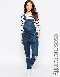 maternity dungarees asos maternity asos maternity denim dungarees in vintage mid wash