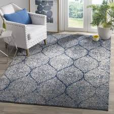 Blue And Grey Area Rug Blue Area Rugs Birch Lane