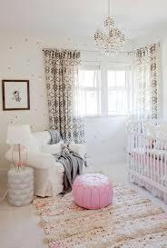 Polka Dot Curtains Nursery Pink And Gray Nursery Transitional Nursery The Cross Decor