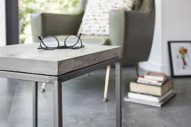 Concrete Side Table Concrete Perspective Side Table Do Shop