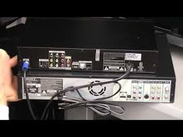direct tv installation how to hook a vcr up to directv youtube