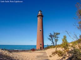 Michigan Lighthouses Map by Lighthouses In West Michigan West Michigan Tourist Association
