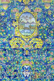 Tile Decoration Iranian Tile Decoration Stock Photo 185291499 Istock
