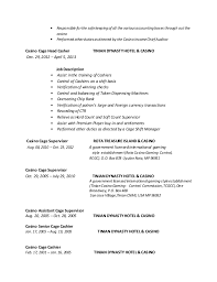Shift Manager Job Description Resume by Resume New1