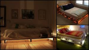 Making A Pallet Bed Making This Illuminated Pallet Bed Is As Easy As 1 2 3