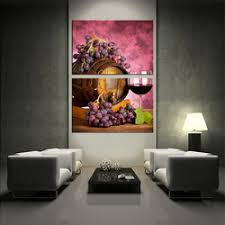 large living room wall art 2 piece large pictures red wine multi panel art wine glass canvas