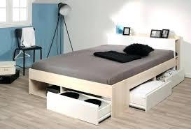 but rangement chambre lit 2 places avec tiroirs rangement lit 2 place avec rangement