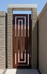 gate and fence rot iron fence metal deck gate steel gate design
