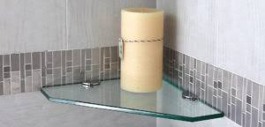 Glass Shelves For Bathrooms Glass Shelves For Bathrooms Reflections