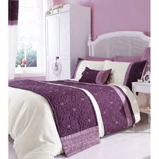 catherine lansfield lois mauve bedding set u2013 next day delivery