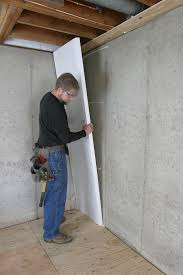 Best Paint For Concrete Walls In Basement by 58 Best Insulation For Basement Walls Best 20 Wall Insulation
