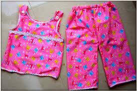 easy sew night wear for kids youtube