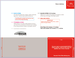 postcard back template income statement template