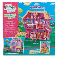 amazon com lalaloopsy mini sew sweet house playset toys u0026 games