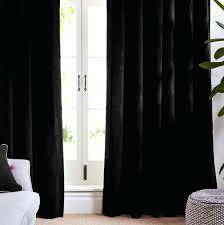 Black Tab Top Curtains Tab Top Curtains Argos Www Elderbranch