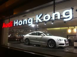 File Hk Admiralty Night 夏慤道 Harcourt Road Shop Audi Hong Kong