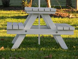 childrens bench and table set quality handmade kid39s timber picnic table quotmini inside