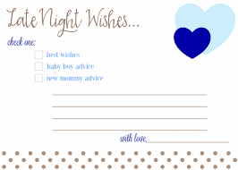 advice to the cards free printable baby shower advice best wishes cards fantabulosity
