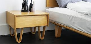 Bed Side Table by Modernica Case Study Bedroom