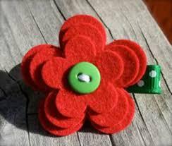Craft Design Ideas Felt Flowers Themselves Making U2013 Creative Craft Ideas From Felt